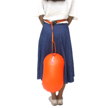 Спасательный буй, легкий одиночный воздушный шар, сумка для помощи в плавании, утолщенный буй, анти-разбивающийся водный дрейфующий мяч для плавания
