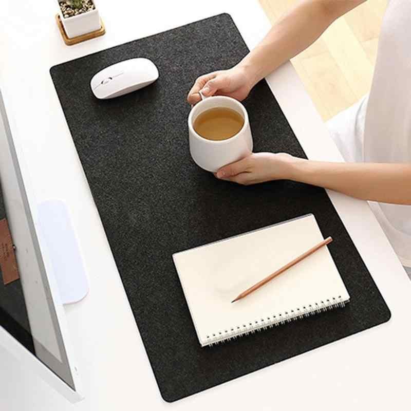 Besar Mouse Pad Kantor Meja Tikar Unti Slip PC Gaming Aksesoris Mouse Pad Keyboard Laptop Mat Home Mousepad Kain