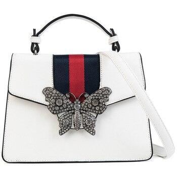 Mixtx Frauen Bling Diamanten Schmetterling Handtasche Dame Trend crossbody-tasche Klassische Getäfelten Tote Weibliche Luxus Messenger Schulter Tasche