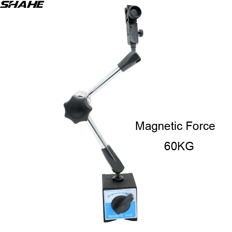 shahe Universal flexible stand Magnetic Base Holder Stand for indicator gauge Magnetic Force 60KG network recovery