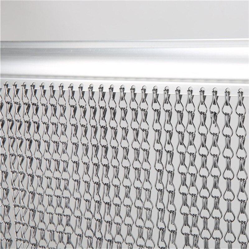 Premium Aluminium Insect Door Screen Fly Chain Curtain