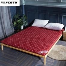 Thick sponge mattress topper tatami folding high density foam mattresses topper bed
