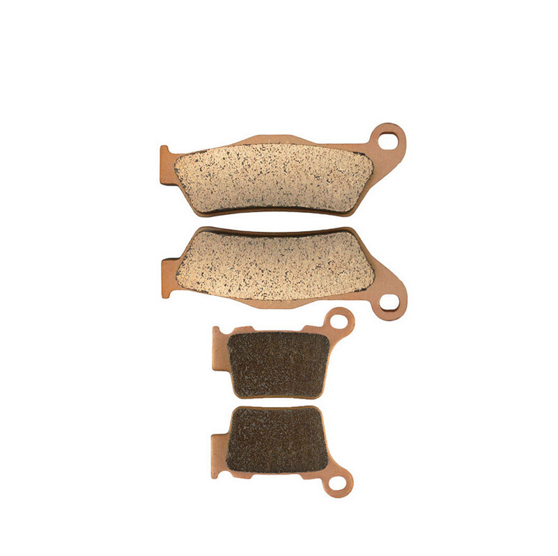 Motorcycle Front & Rear Brake Pads Kit For KTM EXC525 EXC 525 2004-2007 05 06 SX525 2003-2006 04 05 Brake Disks motorcycle front and rear brake pads for ktm exc egs exe lc2 125 1994 2003 black brake disc pad