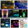 10 Led Remote Controlled RGB Submersible Light Battery Operated Underwater Night Lamp Outdoor Vase Bowl Garden Party Decoration 6
