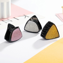 CHIMERA Triangle Hair Claw 3Pcs/set Simple Acrylic Clips Small Crab Barrettes Accessories for Women Girls