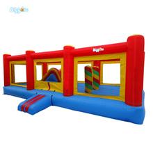 Good Quality Commercial Use Inflatable Obstacle Course Funny City for Kids