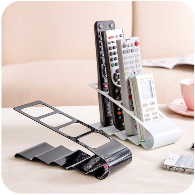 Stainless Steel Organizer Coffee Table Storage Bench Remote Control Holders For Tv Refrigerator Controls