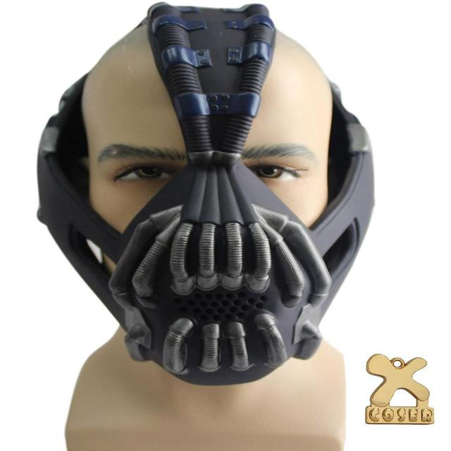 Coslive Batman Mask Bane Half Face Mask Change Voice The Dark Knight Rises Cosplay Costume Accessories Prop 1