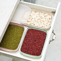 Biodegradable Green Wheat Straw Sealed Box Food Container Refrigerator Crisper Dumpling Box Kitchen Accessories Organizer