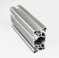 4080 EA Aluminum Profile Extrusion 40 Series Aluminum Tube Length 1 Meter