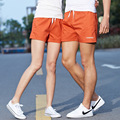 2 unids/lote 2017 Pares de La Manera Junta Shorts Amante Beach Pantalones Cortos Ropa de Playa de Secado rápido Para Hombre Cortocircuitos de la Playa de Vacaciones Chándal P55