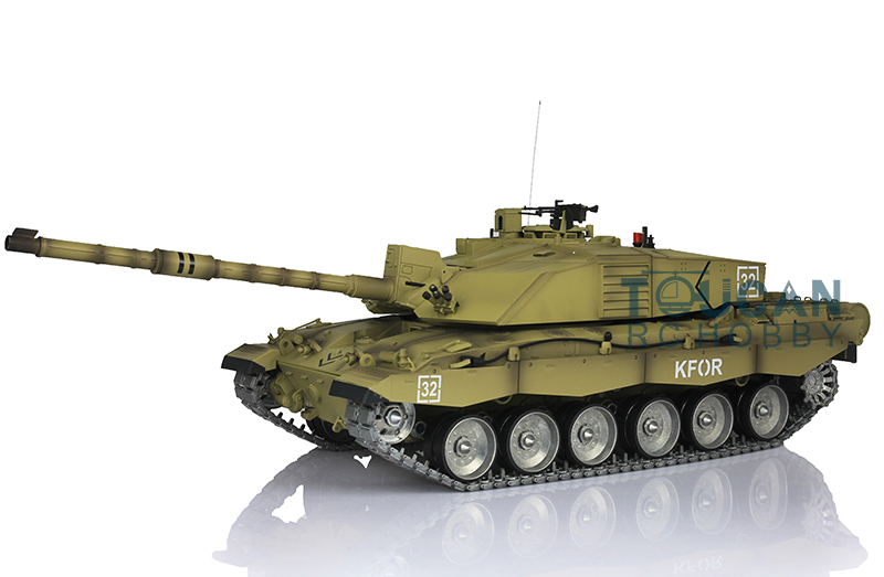 все цены на  2.4Ghz Henglong 1/16 Challenger II RTR RC Tank Model Metal Track Road Wheel 3908  онлайн