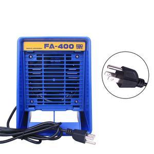 Image 3 - Absorbeur de fumée en fer à souder 220V/110V, extracteur de fumée ESD, Instrument de fumée avec 10 éponges de filtre à charbon actif gratuites