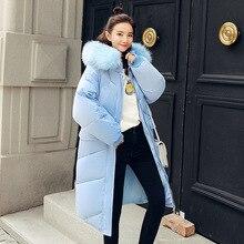 New parkas mujer 2018 casual Winter jacket for Women hooded women coat jacket Winter Coat Women kurtka parka z futerkiem 62803