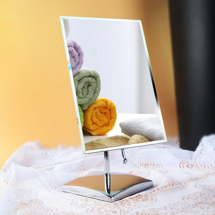 360 Degree Rotation Make Up Mirror Cosmetic Folding Portable  Makeup Tool levett caesar prostate massager for 360 degree rotation g spot