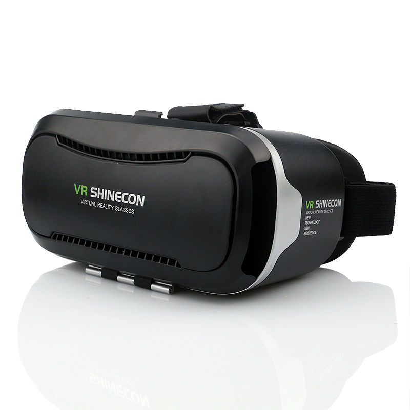 VR Shinecon 2.0 Google Cardboard VR BOX 2.0 Virtual Reality goggles VR 3D Glasses Immersive for 4.5-6.0 inch smartphones 12