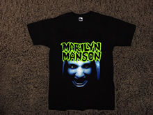 Rare-Vintage-Marilyn-Manson-T shirt-Winterland-1990s-_57  reprint 100% Cotton Fashion T-Shirts top tee