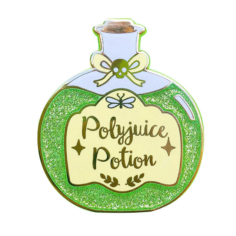 Polyjuice Pin Badge