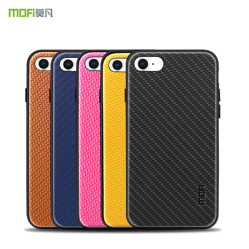 e735a766061b2 For iPhone 7 8 Case Cover Original MOFI Luxury Silicone PU Leather Back  Cover For iPhone8