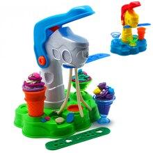 Морозиво Глина Форма для виготовлення Playdough Клей Тесто Пластилін Mold інструмент Рання освіта Навчальний Diy Іграшка подарунок 7 ПК / комплект