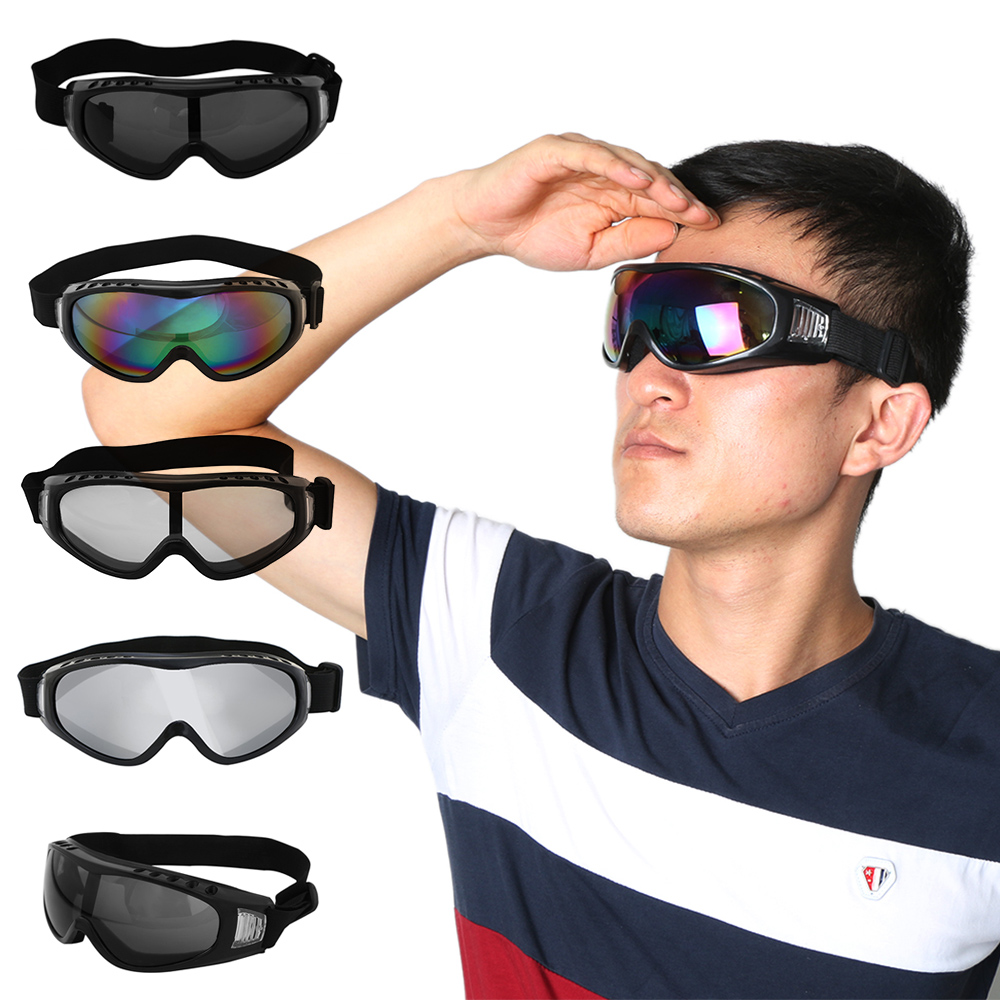 Anti-fogwind-dustproof Motocross Riding Goggles Motorcycle Dirt Bike Atv Off Road Skiing Sun Glasses Snowboard Protectiveeyewear Consumers First