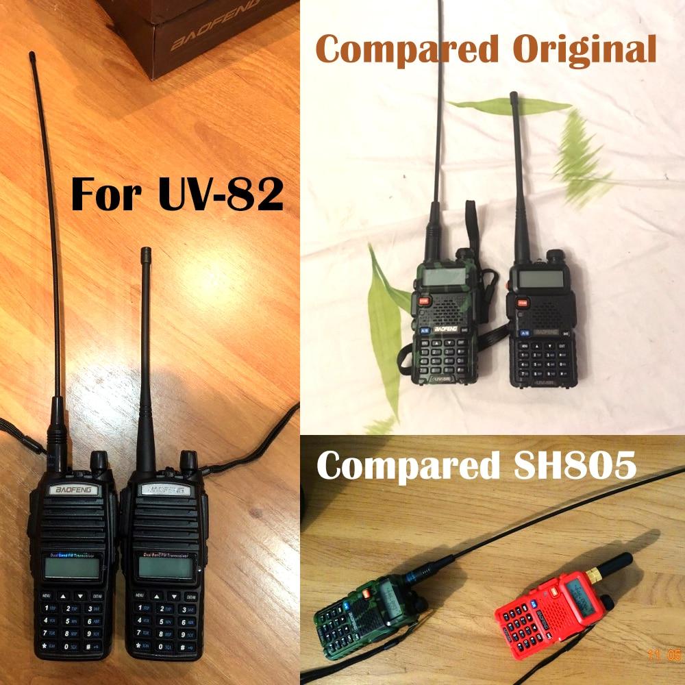 Baofeng NA-771 Antenna Gain NA771 Walkie Talkie Antenna SMA-F 39cm UHF VHF Signal Extend Amplifier for UV-5R BF-888S UV-82