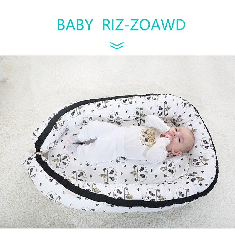 Baby Nest Bed Crib Portable Isolation Newborn Bionic Crib Travel Bed Infant Kids Cotton Cradle With Bumper SLEEP POD