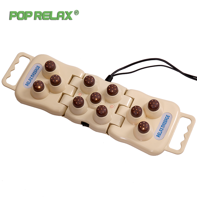 Pop Relax Health Tourmaline Products Electric Jade Massagers For The Body Infrared Heating Therapy Ion Massage Stones P11 Balls pop relax health products electric prostate massage for men handhend infrared heating therapy device 3 balls jade stone massager