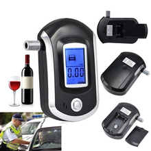 2016 Portable Smart Breath Alcohol Tester Digital LCD Breathalyzer Analyzer AT6000
