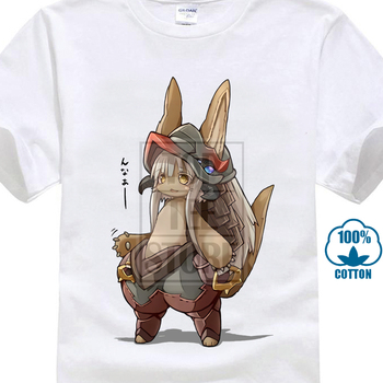 Made In Abyss T Shirts Multi Style Short Sleeve Shirts Meido In Abisu Akihito Tsukushi Nanachi Riko Mitty Srajo Cosplay Shirt