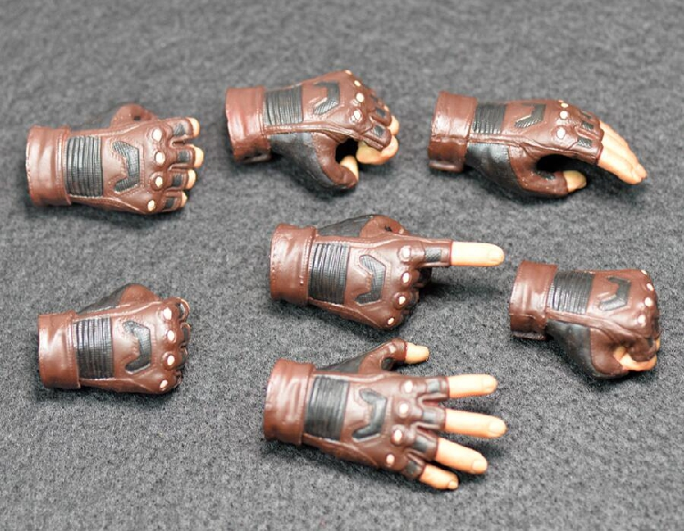 1/6 Soldier Hand Type Accessories 7Pcs/Set US captain 3 Civil war glove Hand type non HT Fit 12'' Figure  Doll Body Toys the history of england volume 3 civil war