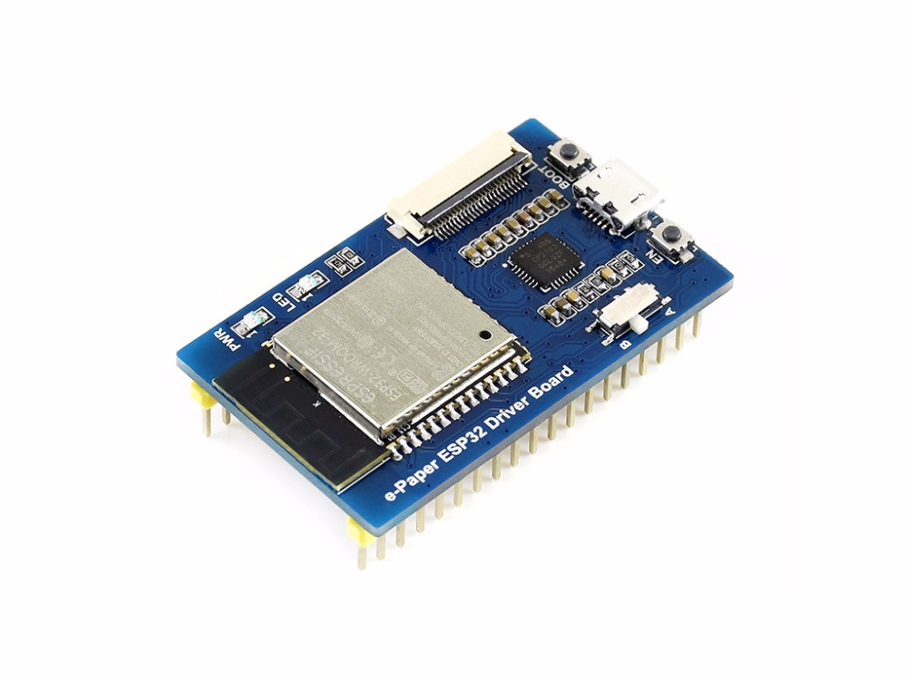Universal E-Paper Raw Panel Driver Board, ESP32 WiFi / Bluetooth Wireless Supports Various Waveshare SPI E-Paper Raw Panels