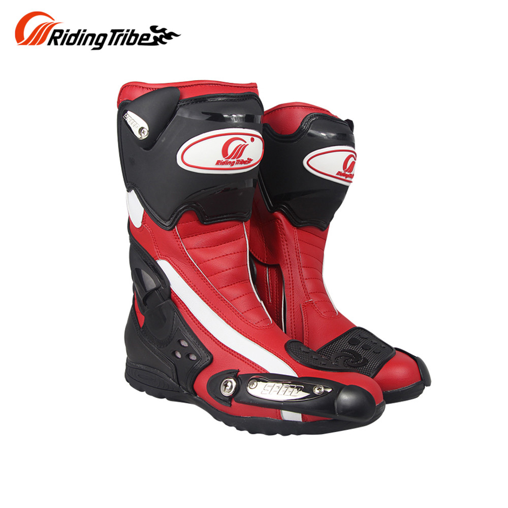CHCYCLE Motorcycle Boots Waterproof /& Windproof Leather Riding Boots for Men Black US 12