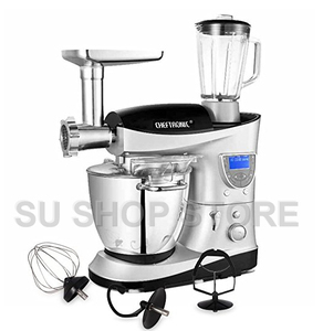 Image 2 - CHEFTRONIC 4 In 1 Multifunction Kitchen Stand Mixer SM 1088, 1000W 7.4QT Precise Heat Stainless Mixing Bowl with Meat Grinder B