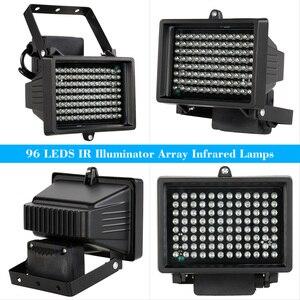 Image 2 - 96 pièces LED s illuminateur lumière IR infrarouge extérieur étanche Vision nocturne assistance lampe à LED pour caméra de Surveillance CCTV
