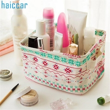 Home Wider Haicar lovely py  Plastic Office Desktop Storage Boxes Makeup Organizer Storage Box sep924 Drop Shipping