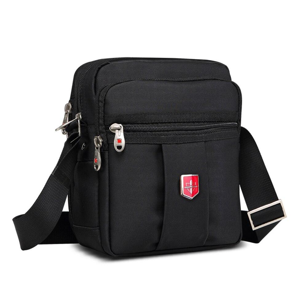 Новая швейцарская брендовая мужская сумка-мессенджер, сумка через плечо,  непромокаемая сумка, Оксфордские 077b2321244