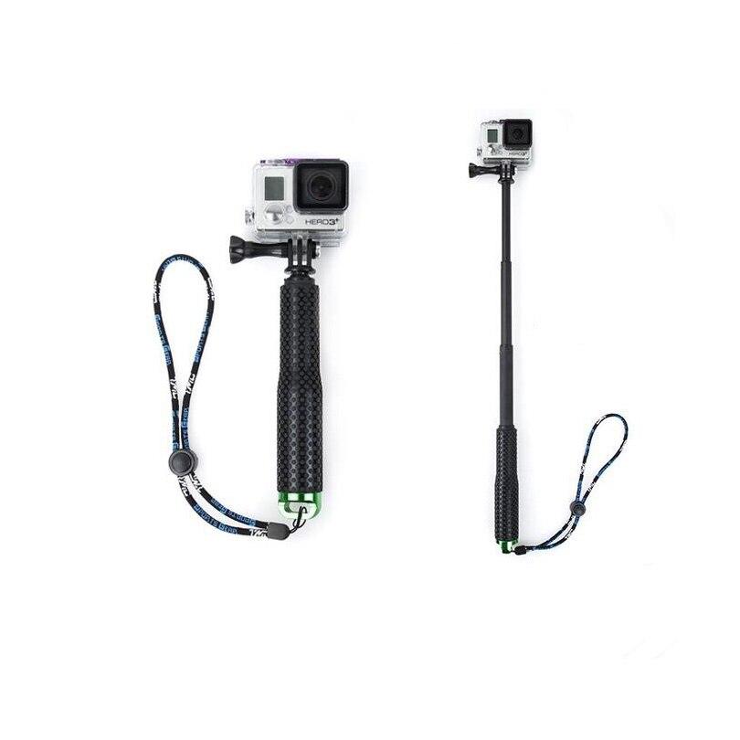 Selfiestick 190mm-490mm monopod de la alta calidad para gopro4/gopro3/3 +/2 sj4000 acción cámara Palos de autofoto para la Cámara de los deportes