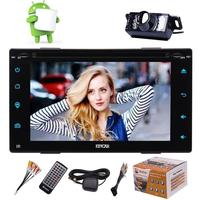 2din Android 6.0 Universal Touch Car dvd PC Tablet double Audio 7'' GPS Navi Car Stereo Radio cd DVD Navigation Video Capacitive