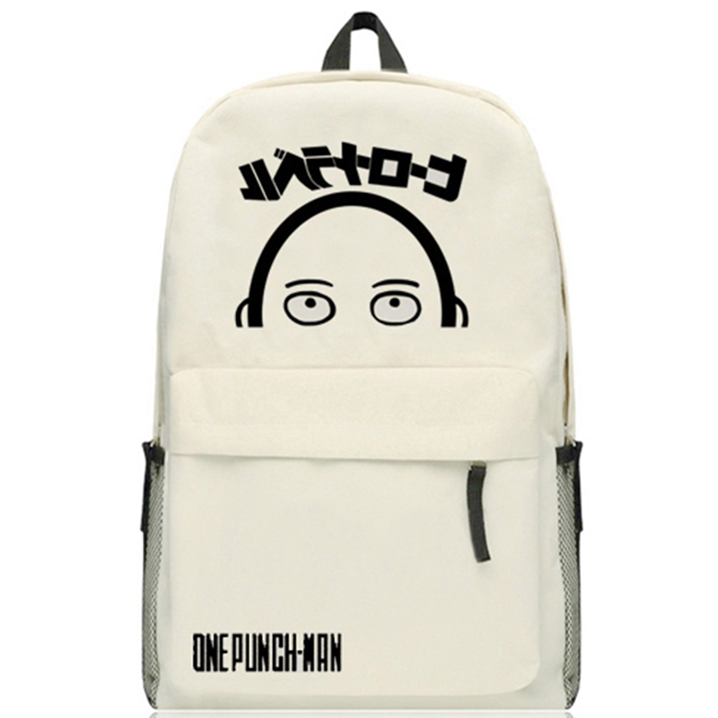 Anime One Punch Man Oppai Saitama Student Schoolbag Casual Oxford Shoulders Bag Backpack Computer Bags hot selling anime inuyasha sesshoumaru cosplay shoulders oxford bag backpack cartoon cute schoolbag satchel book bags