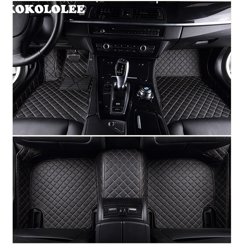 Hyundai I10 2014 ONWARDS TAILORED CAR FLOOR MATS BLACK WITH BLUE TRIM