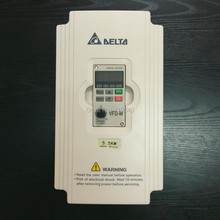 цена на Delta Inverter 5.5 KW VFD055M43A 3 Phase 380V to 460V Rated 13A 100% New 5500W VFD Series Invertor Variable Speed AC Motor Drive
