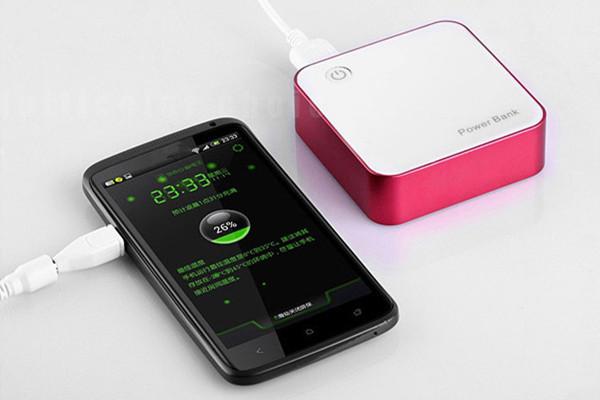 Frete grátis recarregável 18650 lithium battery power bank 8400 mah para xiaomi telefone celular