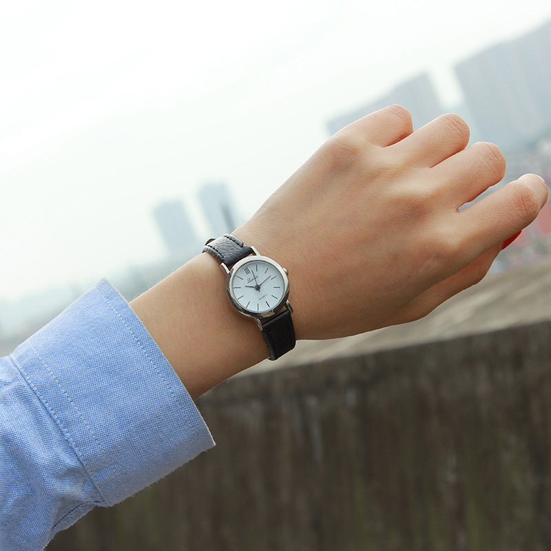 Luobos New Fashion Watch Women Simple Elegant Style Leather Strap Small Dial Casual Quartz Wristwatch Ladies Popular Clock luobos small dial women watch fashion casual leather quartz wrist watches ladies hot sale simple style watched relogio feminino