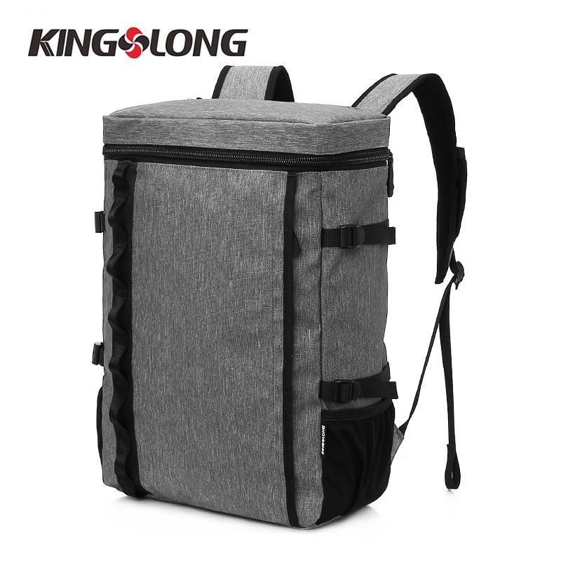 KINGSLONG Cool Men Backpack 15.6 Inch Laptop Backpack Travel Bag Water Repellent Daypacks Large Capacity Rucksack for Teens #5 men teens fashion cool purse american