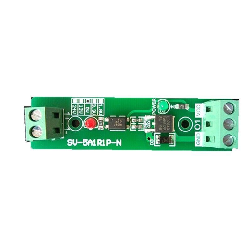 3.3 V/5 V/12 V/24 V 1 ערוץ 1-קצת בידוד מצמד אופטי מודול ממסר נהג לוח עבור PLC בקרת מכשיר