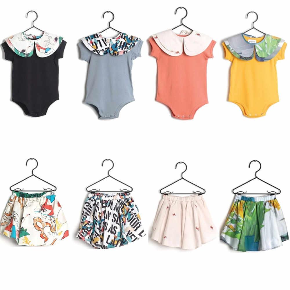 d21de87ec45 Pre-sale Newborn Baby Girls Rompers Wolf   Rita 2019 Summer Infant Kids  Boys Romper