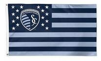 90x150cm Kansas City KC MLS flag  Polyester 100D Digital printing Decorative Activity Banner