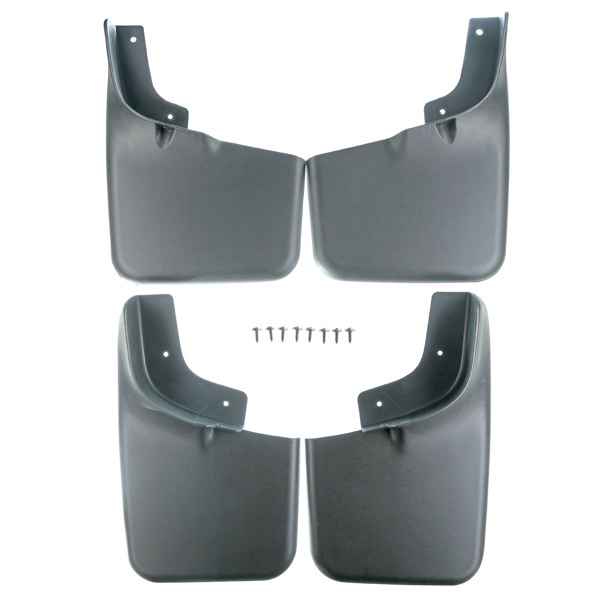 Set of 4 Splash Guards Mud Flaps Mudflaps for Ford F 150 2004 2005 2006 2007