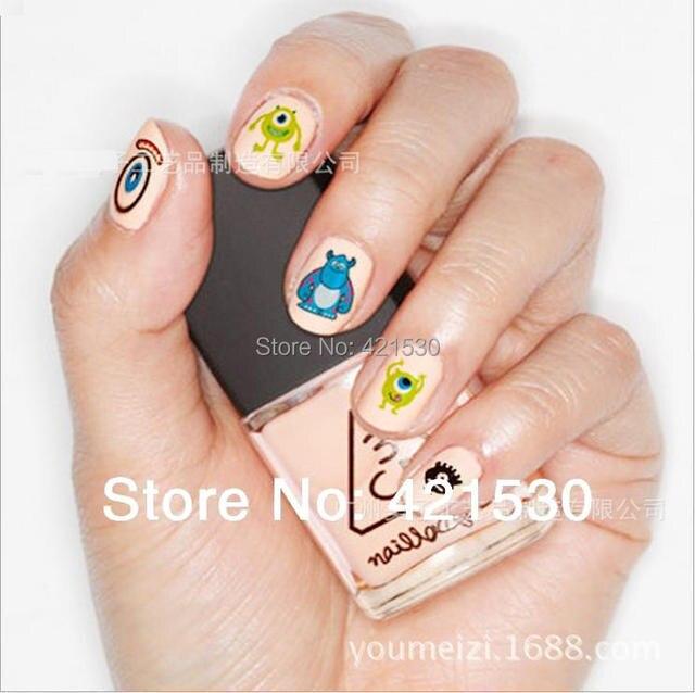 Japan harajuku style 3d nail patch art water nail decals monster japan harajuku style 3d nail patch art water nail decals monsterspongeduck prinsesfo Choice Image